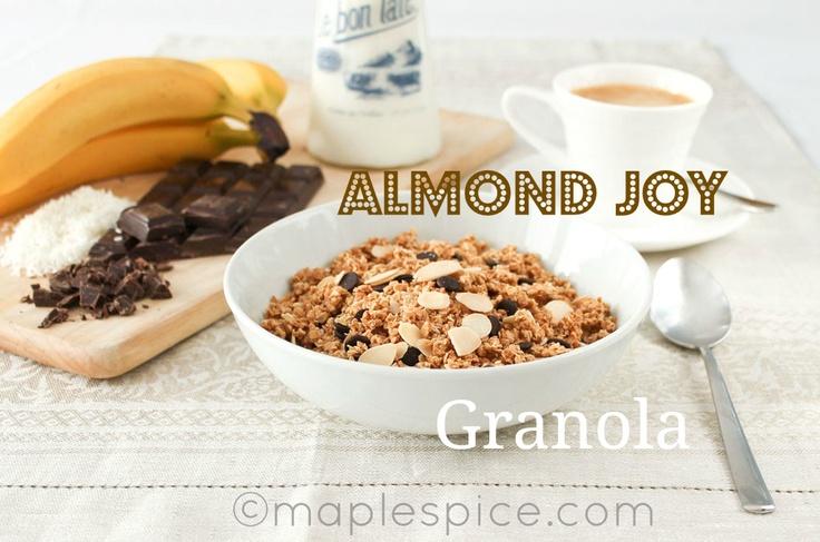 Almond Joy Granola | Breakfast | Pinterest