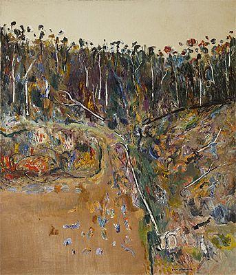 Fred williams australian landscape artists pinterest for Australian mural artists