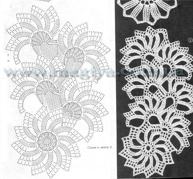Tape Lace Patterns (many) crochet Pinterest