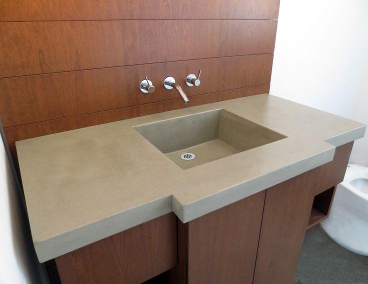Pin By Trueform Concrete On Concrete Sinks Gallery Trueform Concret