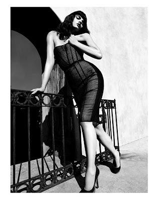 Crystal Renn by Camilla Akrans for Vogue Japan