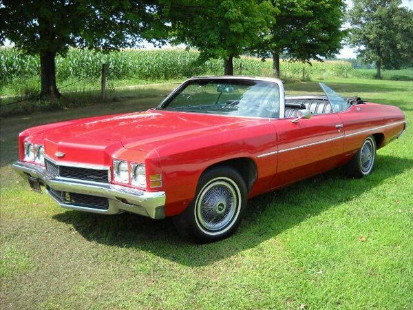 1972 chevrolet impala 39 70s newer chevys pinterest. Black Bedroom Furniture Sets. Home Design Ideas