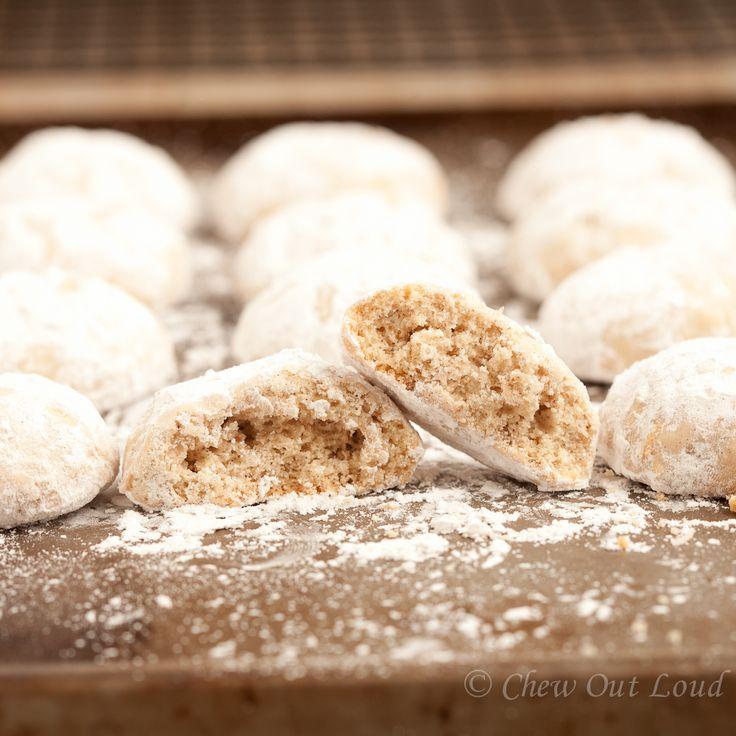 Russian Tea Cakes (Mexican wedding cookies)