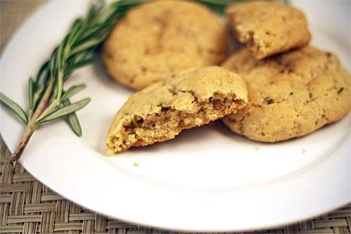 ... & delicious vegan Rosemary Cookies | Vegan Cookies & Bars | Pin