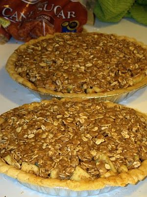 Dutch Apple Pie with Oatmeal Streusel | Recipes To Try | Pinterest
