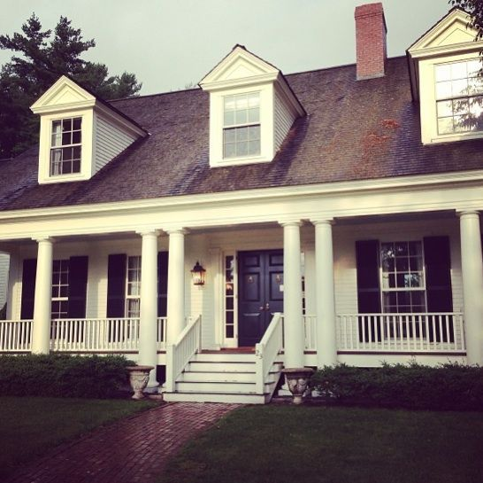New england style home sweet home pinterest for New style houses