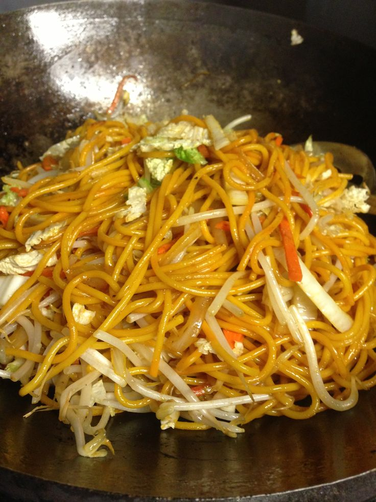 Vegetable Lo Mein | food ideas | Pinterest