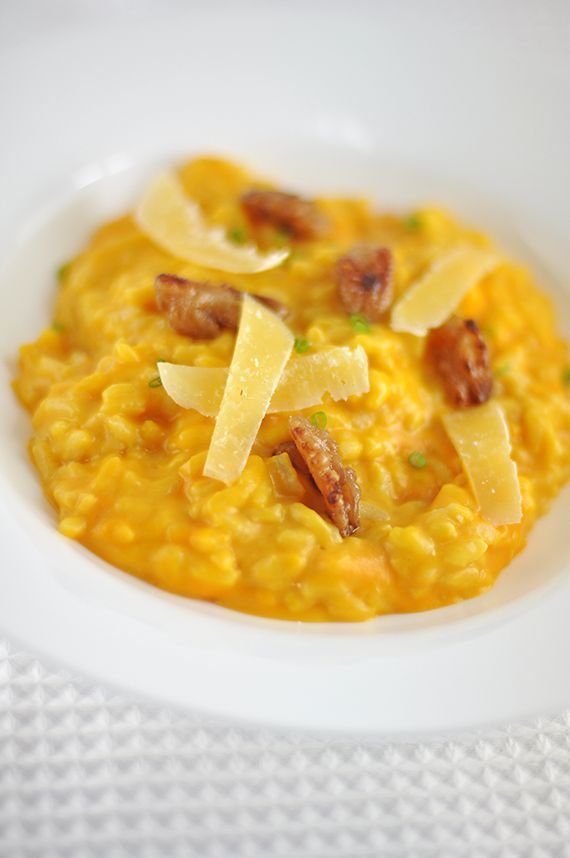 Butternut squash risotto | Dinner | Pinterest