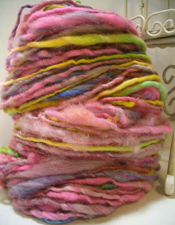 Handspun Yarn : Handspun yarn