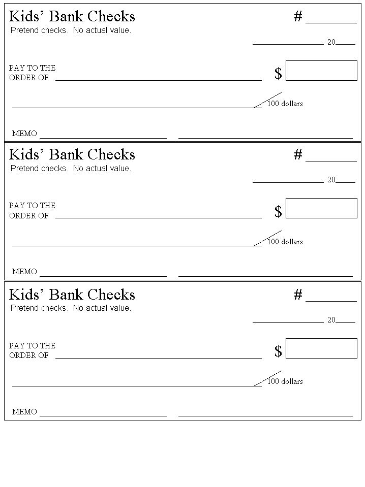 How to Write a Check to Deposit