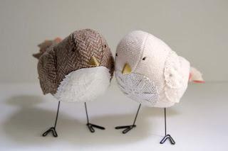 oiseaux dentelle  Idées déco mariage  Pinterest