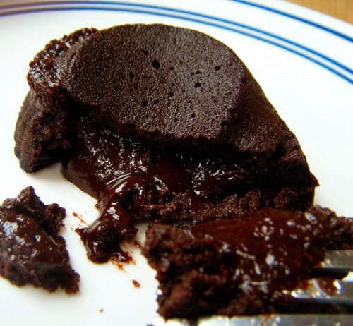 Low Carb Chocolate Lava Cake