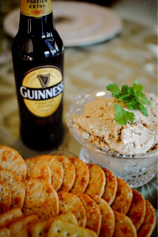 1oz butter room temp 1oz cream cheese 1/3c Guinness 1 1/2tsp Dijon ...