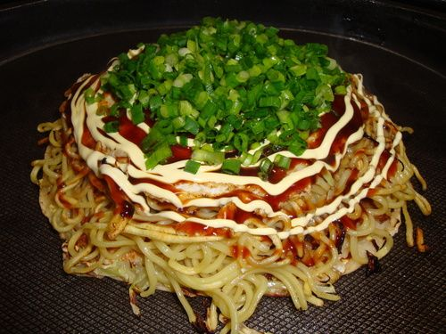My Husband's Hiroshima-style Okonomiyaki (with photos) | Recipe