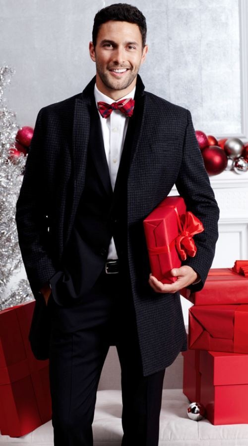 Similiar All Black With Red Tie Suit Keywords