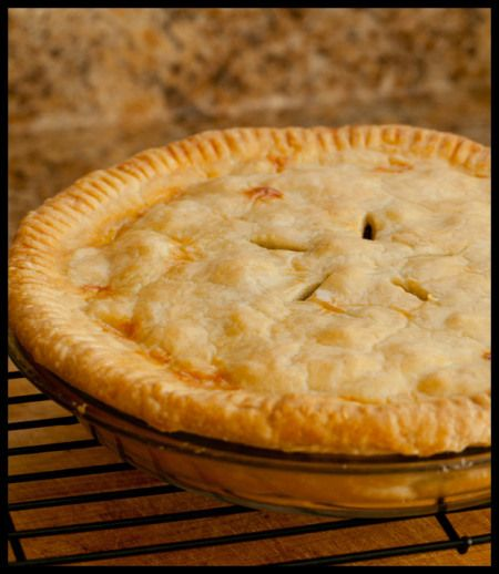Tourtiere: Canadian meat pie. This recipe makes 2 pies and I prefer ...