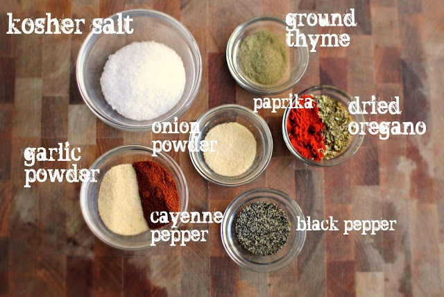 Cajun Seasoning mix | Condiments/Jams/Spices | Pinterest