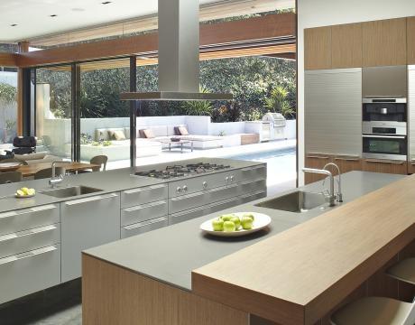 galley island kitchen interiors kitchen pinterest