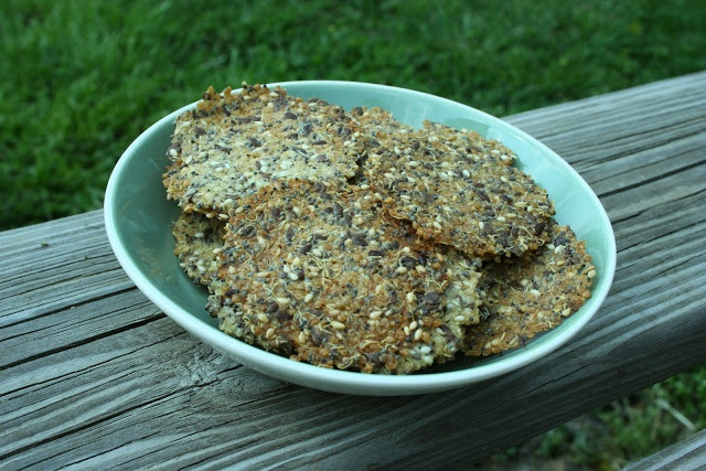 Quinoa Crackers With Seeds Recipes — Dishmaps