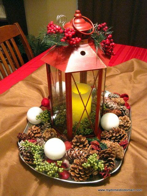 Quick christmas centerpiece ideas places