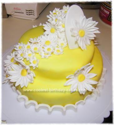 Images Of B Day Cake For Mom : Homemade Mother s Day Flower Cake cakes Pinterest