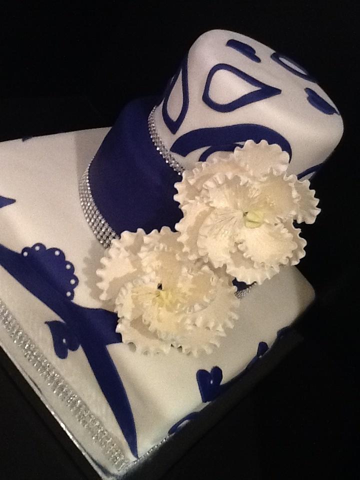 Art deco wedding cake cake decorations pinterest