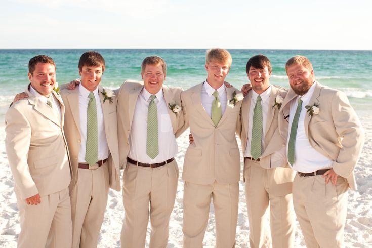 Groomsmen Attire Beach Wedding