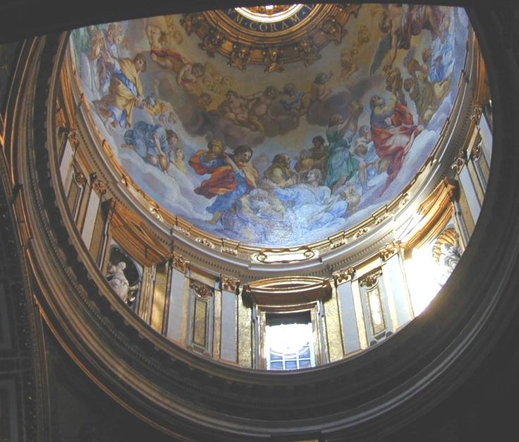 Ceiling Art In St Peter S Basilica Amo Pinterest