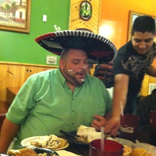 Never admit it's your birthday when dining at a Mexican restaurant. :)