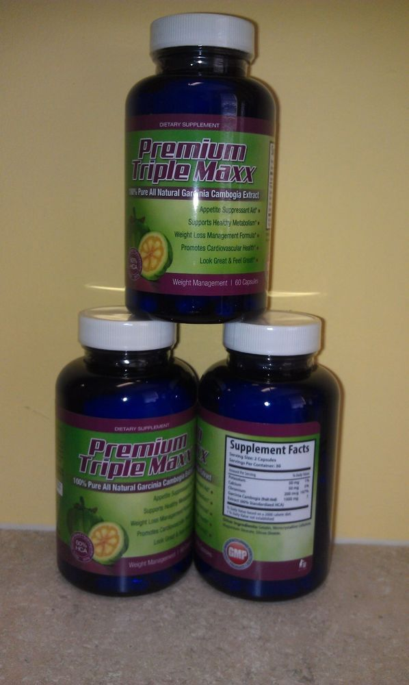 Official 100% Pure All Natural Garcinia Cambogia Extract with 1000mg