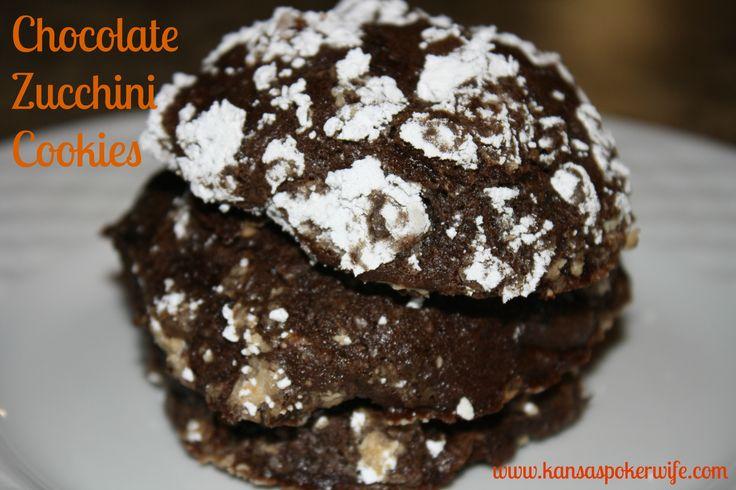 recipe two peas chocolate fudge zucchini cookies zucchini cookie ...