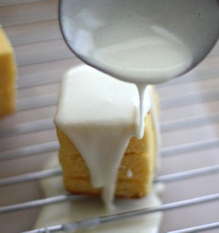Easy Lemon Petit Fours | SWEET BITES | Pinterest