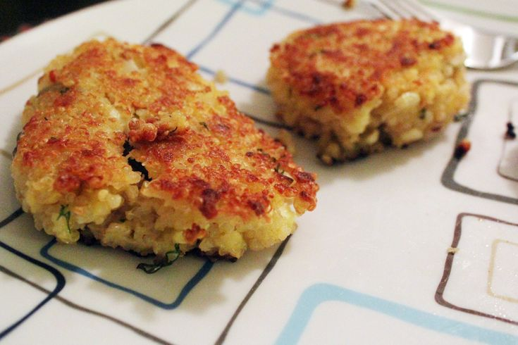 Lemon, Olive, And Parsley Quinoa Cakes Recipes — Dishmaps