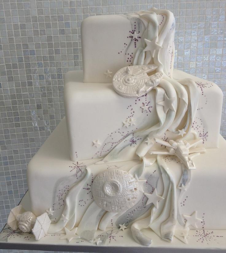 Star Wars wedding cake! Geek/Nerd Wedding Planner ...