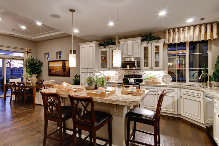 White Cabinets Granite Countertops The Cypress By Oakwood Homes