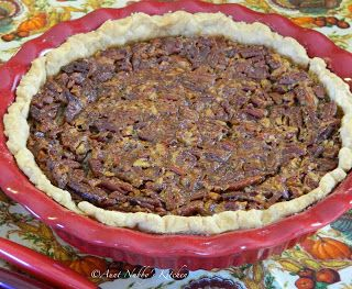 Sugar, Spice and Spilled Milk: Chocolate Pecan Pie