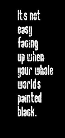 Rolling Stones Song Lyrics Paint It Black