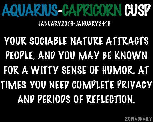 Dating capricorn aquarius cusp