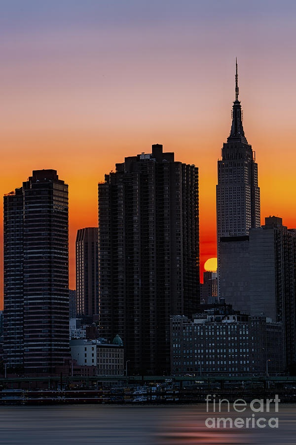 empire state building sunset - photo #4