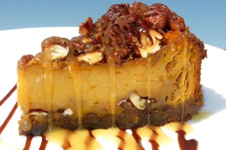 Pumpkin Praline Cheesecake | gotta have a bite of this | Pinterest