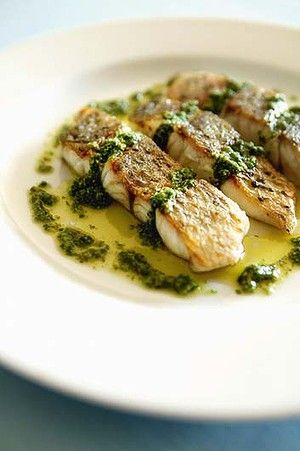 Seared Scallops With Salsa Verde Recipes — Dishmaps
