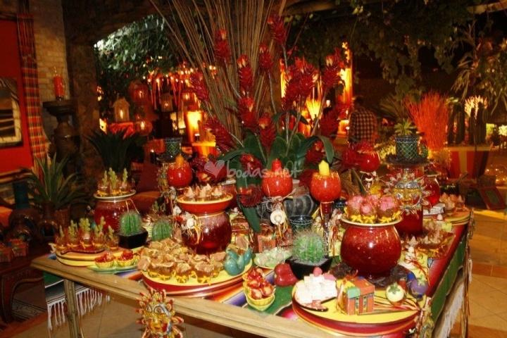 Decoraciones estilo mexicano for Decoracion de pared para quinceanera
