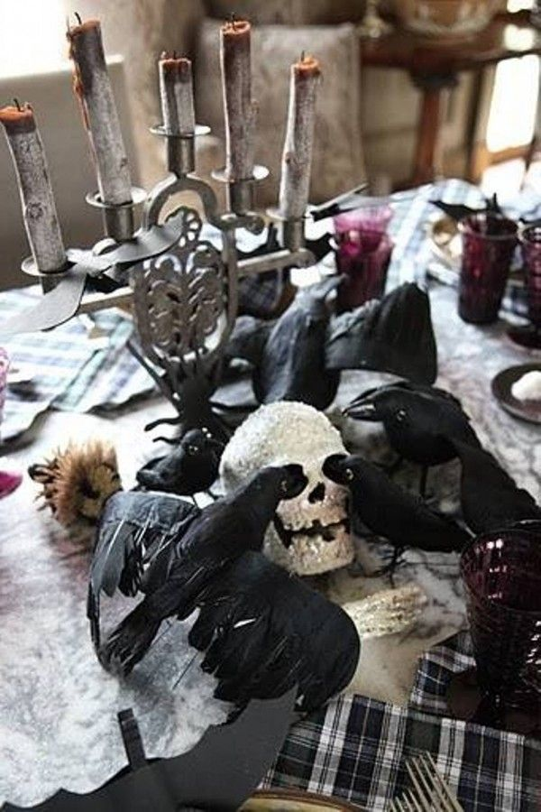 Spooky Easy Halloween Party Decorating Ideas | DesignArtHouse.com - Home Art, Design, Ideas and Photos