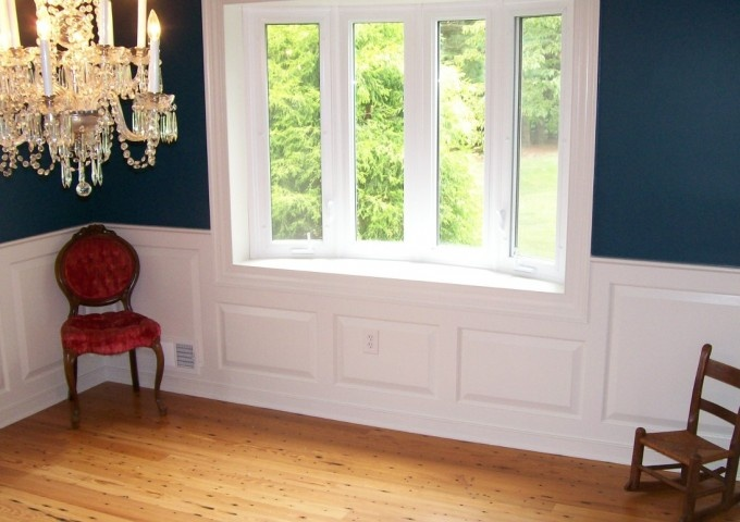 Raised panel wainscoting in dining room dining room ideas pinter - Dining room panels ...