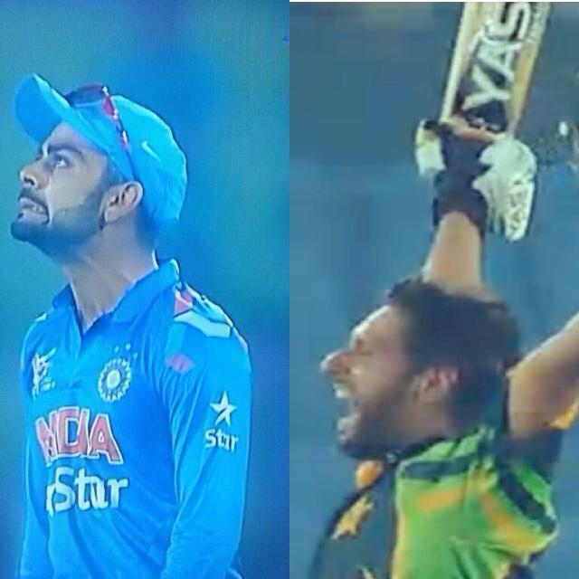 Shahid Afridi stuns Virat Kohli | Cricket | Pinterest