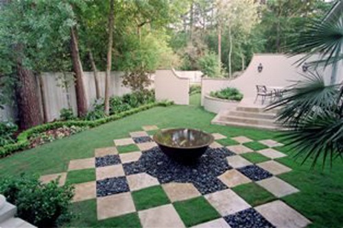 Faforite area tuscan style backyard landscaping pictures for 60s garden design