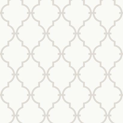 Tapeta KRATA Szara - Beautiful Home - tapety ścienne, naklejki na ścianę