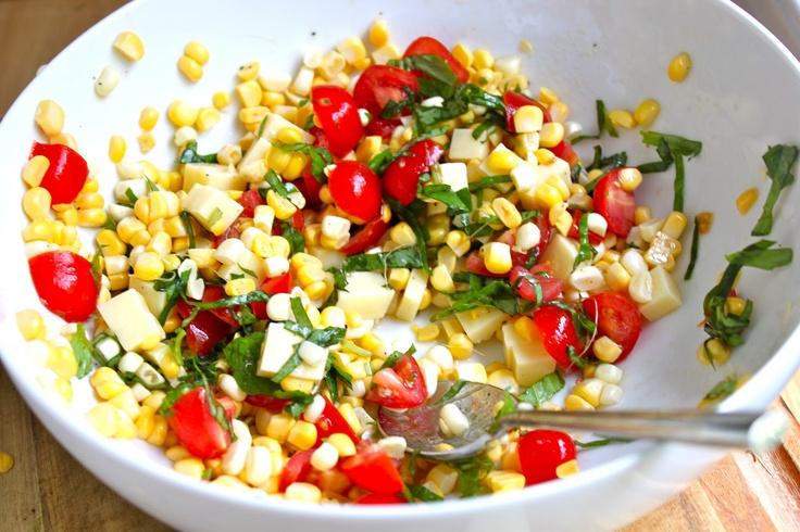 Fresh Corn tomato Salad | Salad | Pinterest