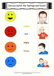 "Match the feeling faces | Emotion Regulation/""Behaviour"" | Pinterest"
