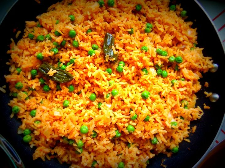 Mexican Red Rice - Hispanic Kitchen | Mexican Dishes ...